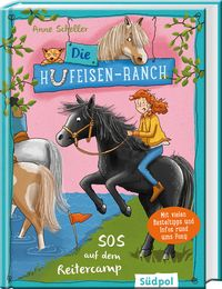 Die Hufeisen-Ranch - SOS im Reitercamp - Cover