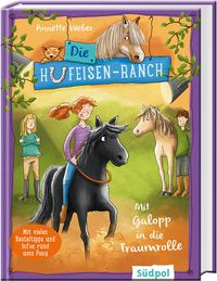 Die Hufeisen-Ranch - Mit Galopp in die Traumrolle – Cover