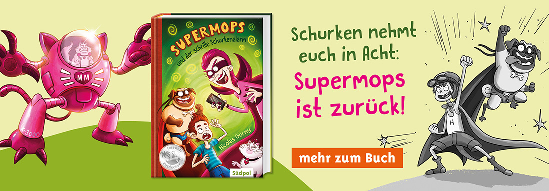 Kinderbuchserie Supermops