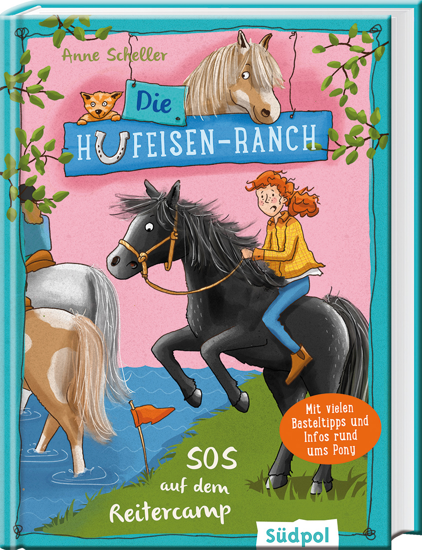 Cover Die Hufeisen-Ranch -  SOS im Reitercamp